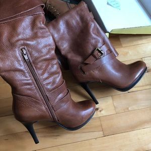Cathy Jean healed boots